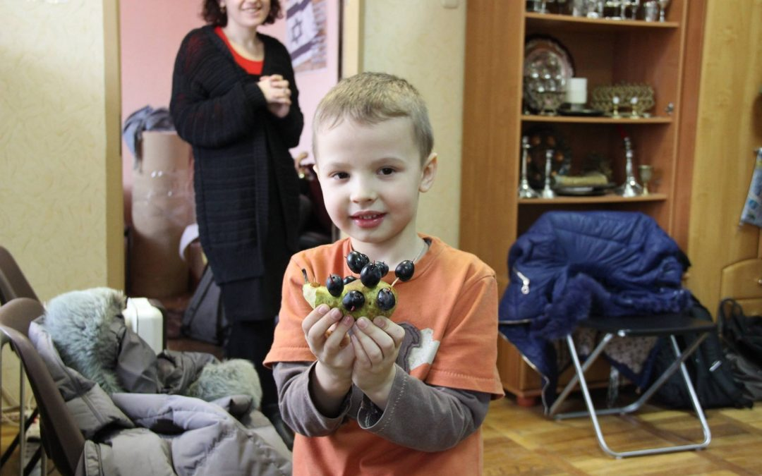 Photos of Tu Bishvat Celebrations in Polotsk, Belarus