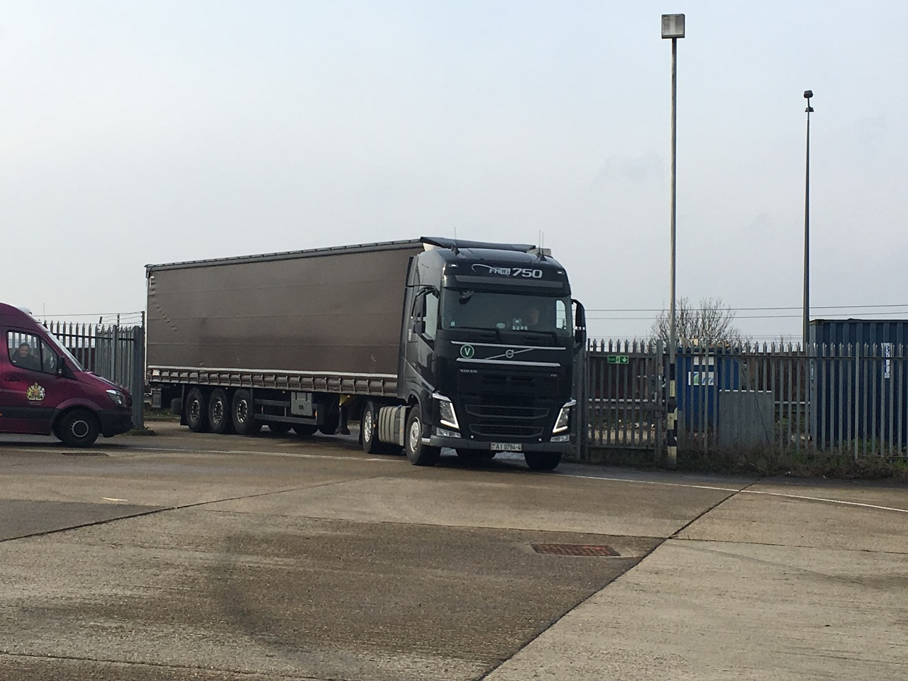 40-foot container of humanitarian aid departs for Belarus