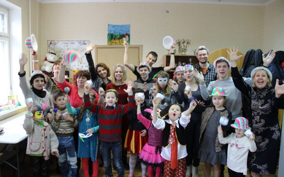 Purim celebrations take Belarus by storm