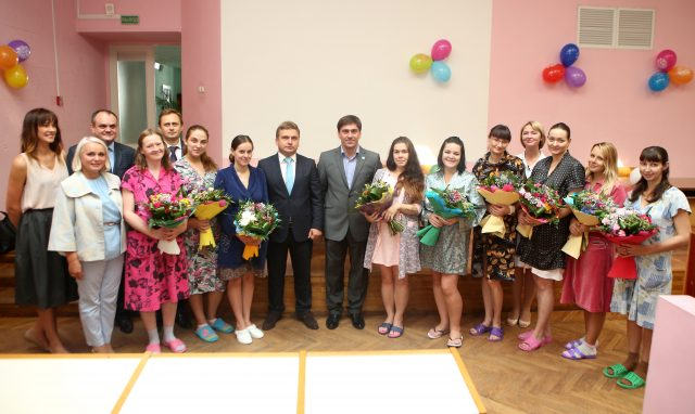 The Together Plan in Minsk celebrates with new mothers