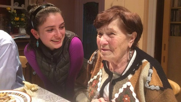 Minsk Ghetto Survivors' Association chair Frida Reisman comes to London