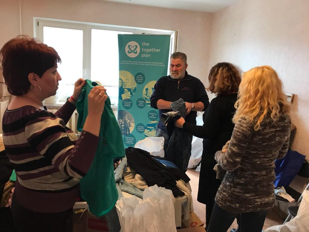 Aid Together – Humanitarian Aid Reaching Recipients in Minsk