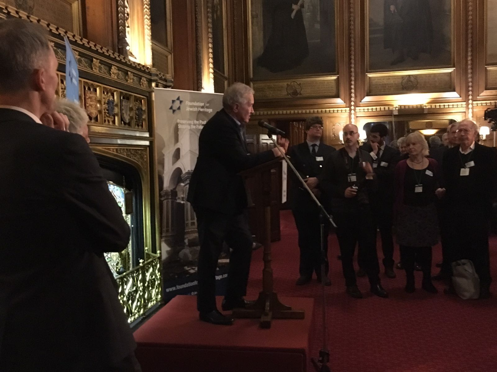 The Together Plan visits the House of Commons for heritage project launch