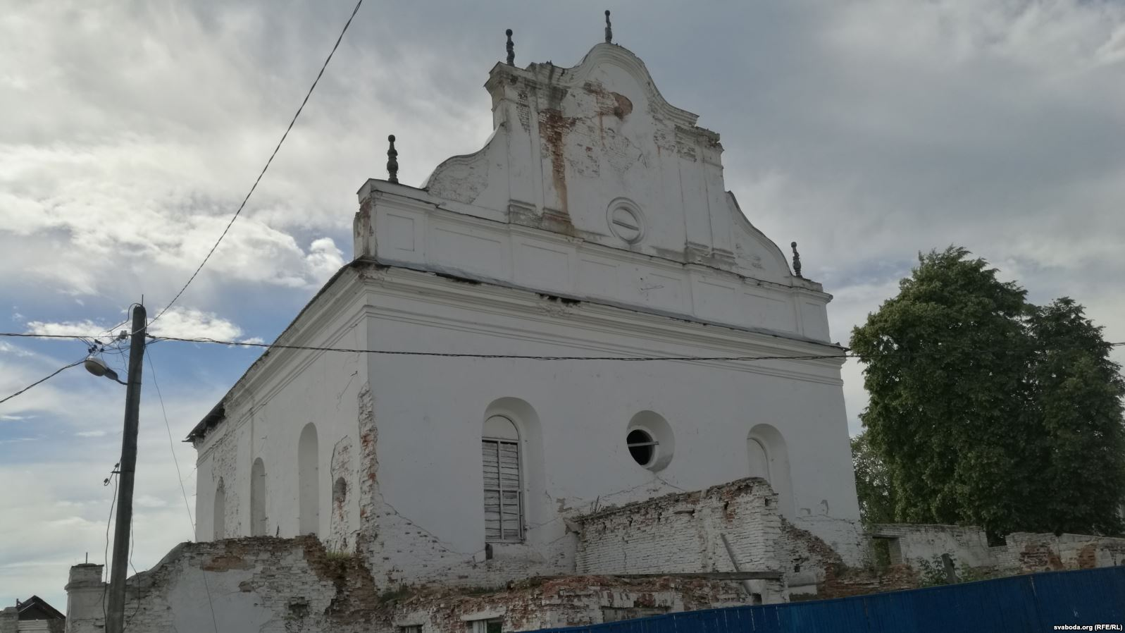 Slonim Synagogue restoration project makes Belarusian headlines